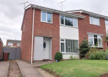 Thumbnail 3 bed semi-detached house for sale in Ferncombe Drive, Rugeley