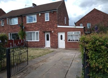 Thumbnail 2 bed semi-detached house to rent in Linden Avenue, Wickersley Rotheram