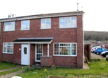 Thumbnail 3 bed end terrace house for sale in Meadow Croft, Weston-Super-Mare