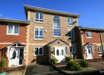 Thumbnail 5 bed town house for sale in Kingfisher Close, Esh Winning, Durham