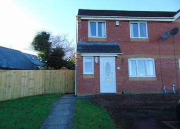 Thumbnail 3 bed semi-detached house for sale in Brynhyfryd, Llangennech, Llanelli