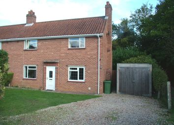 Thumbnail Semi-detached house for sale in Francis Road, Long Stratton, Norwich