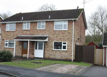 Thumbnail 3 bed semi-detached house for sale in Blackthorn Road, Glenfield, Leicester