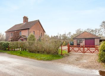 Thumbnail 4 bed detached house for sale in Lyng Road, Weston Longville, Norwich