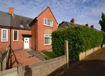 Thumbnail 3 bed semi-detached house for sale in Weldon Crescent, High Heaton, Newcastle Upon Tyne