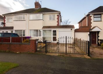 3 bed semi-detached house for sale in Norbury Road, Wolverhampton WV10