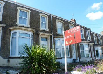 Thumbnail 2 bed terraced house to rent in Peniel Green Road, Swansea