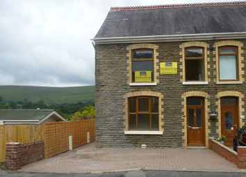 Thumbnail 4 bed end terrace house for sale in Heol Y Gors, Cwmgors, Ammanford, Carmarthenshire.