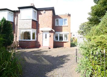 Thumbnail 4 bed semi-detached house to rent in Ridgewood Crescent, Gosforth, Newcastle Upon Tyne