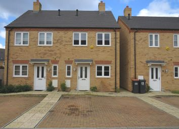 Thumbnail 2 bed semi-detached house for sale in Church Close, Church End, Renhold, Bedford