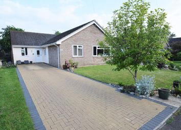 Thumbnail 3 bed detached bungalow for sale in The Croft, Bardwell, Bury St. Edmunds