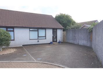Thumbnail 1 bed semi-detached bungalow for sale in Moorland Close, Liskeard