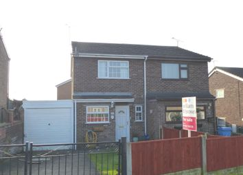 Thumbnail 2 bed semi-detached house for sale in Mayfair Close, Harworth, Doncaster