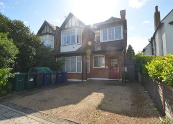 Thumbnail 3 bed flat to rent in Lyndhurst Avenue, London