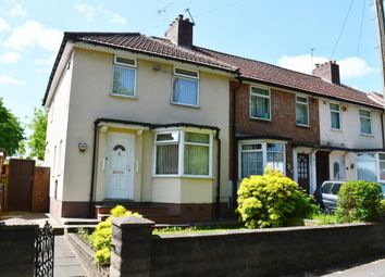 Thumbnail 3 bed end terrace house for sale in Shaftmoor Lane, Hall Green, Birmingham
