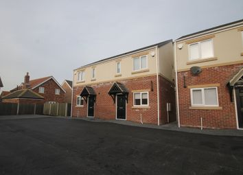Thumbnail 3 bedroom semi-detached house to rent in Station Road, Rossington, Doncaster