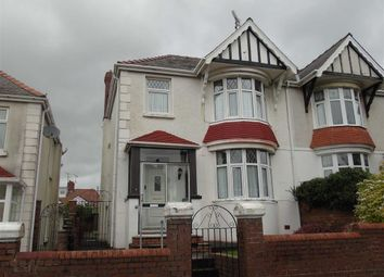 Thumbnail 3 bedroom semi-detached house for sale in Belvedere Road, Llanelli