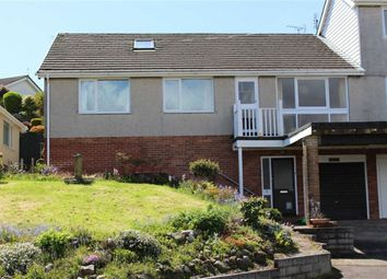 Thumbnail 3 bed semi-detached bungalow for sale in Heatherslade Close, Mumbles, Swansea