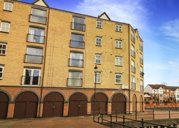 Thumbnail 2 bed flat for sale in The Moorings, St Peters Basin, Northumberland