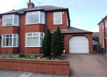 Thumbnail 3 bedroom semi-detached house to rent in Broomhey Avenue, Whitley, Wigan