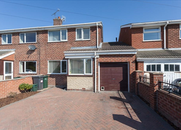 Thumbnail 3 bed semi-detached house for sale in Hollowgate, Barnburgh, Doncaster