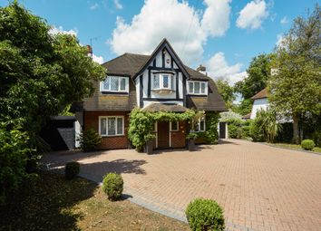 Thumbnail 4 bed detached house to rent in Fir Tree Road, Epsom