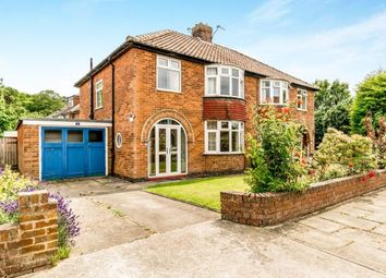 Thumbnail 3 bed semi-detached house for sale in Whin Road, York, North Yorkshire, England