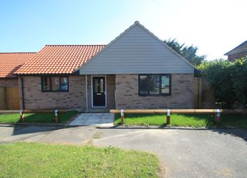 Thumbnail 2 bed detached bungalow for sale in Risby, Bury St Edmunds, Suffolk