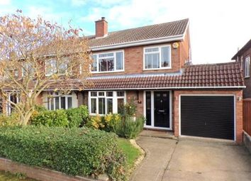 Thumbnail 3 bed semi-detached house for sale in Beauchamp Road, Wootton, Bedford, Bedfordshire