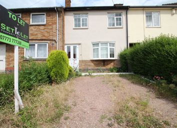 Thumbnail 3 bed town house to rent in New Romney Crescent, Leicester