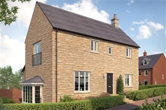 Thumbnail 4 bed detached house for sale in Hanwell View, The Hanwell, Southam Road, Banbury