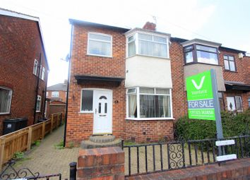 Thumbnail 3 bed semi-detached house for sale in Marina Road, Darlington