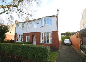 Thumbnail 3 bed semi-detached house to rent in Belgrave Avenue, Penwortham, Preston