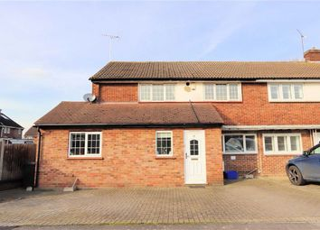 Thumbnail 3 bed semi-detached house for sale in Knights Walk, Abridge, Romford