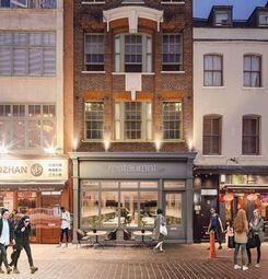 Restaurant/cafe to let in Gerrard Street, London W1D