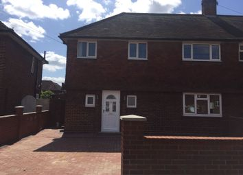Thumbnail 3 bed end terrace house to rent in Beech Road, Feltham