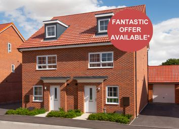 """Thumbnail 4 bedroom semi-detached house for sale in """"Kingsville"""" at Woodcock Square, Mickleover, Derby"""