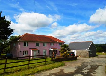 Thumbnail 6 bed equestrian property for sale in Gelly Gelynog, Carway, Carmarthenshire, West Wales