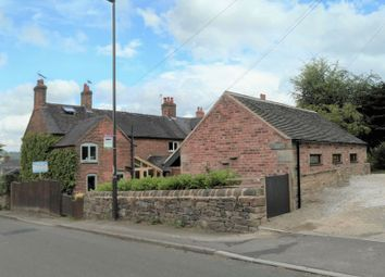 Thumbnail 2 bed end terrace house for sale in Ashbourne Road, Turnditch, Belper