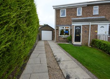 Thumbnail 2 bed semi-detached house for sale in Willow Close, Filey