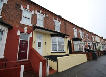 Thumbnail 4 bed terraced house to rent in Cavendish Road, Birmingham