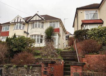 Thumbnail 3 bed semi-detached house to rent in Lon Gwynfryn, Sketty, Swansea