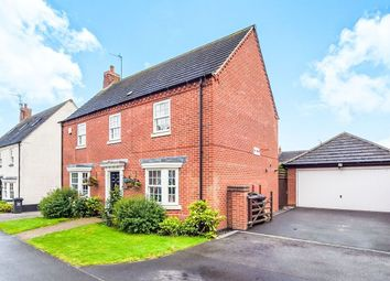 Thumbnail 4 bed detached house to rent in Ruskin Field, Anstey, Leicester
