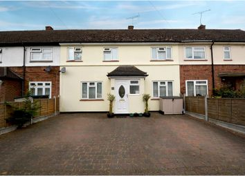 Thumbnail 3 bed terraced house for sale in Gloucester Road, Brentwood