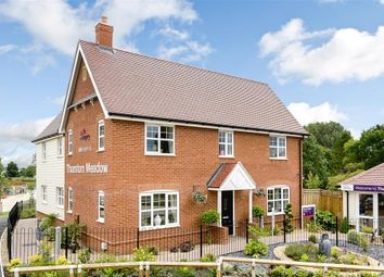 Thumbnail 4 bedroom detached house for sale in Chequers Road, Tharston, Norwich