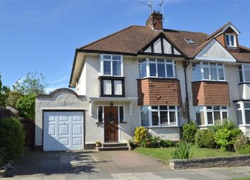 Thumbnail 3 bed semi-detached house for sale in Ewan Way, Leigh-On-Sea, Essex