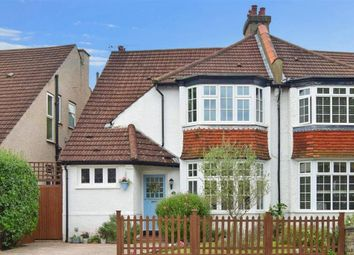 Thumbnail 3 bed semi-detached house for sale in Hillside Gardens, Wallington, Surrey