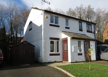 Thumbnail 2 bedroom semi-detached house for sale in Bowers Park Drive, Woolwell, Plymouth