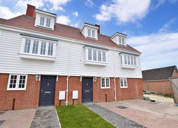 Thumbnail 3 bed end terrace house for sale in Smiths Close, Brenzett, Romney Marsh, Kent
