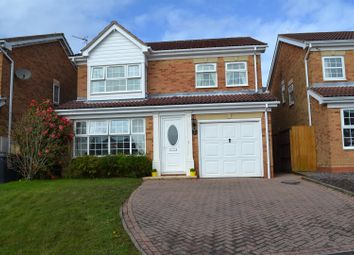 Thumbnail 4 bed detached house for sale in Charleston Close, Newhall, Swadlincote